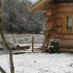 Luxury Log Cabin - Winter cabin