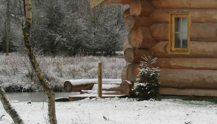 Luxury Log Cabin - Winter cabin