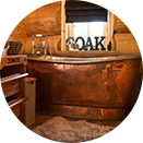 Luxury Log Cabin - Bathroom and tub