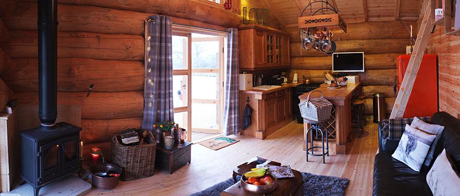 Interior Double Doors Best Log Cabin