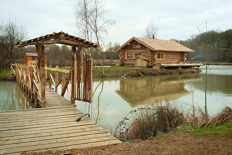 Luxury log cabin holiday at the best log cabin in the uk for Best log cabin homes