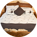 Luxury Log Cabin - Bedroom thumbnail